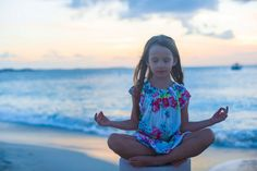 """Guided imagery scripts are a great way for kids to deal with anxiety disorder and stress. These two children's meditation stories from """"Guided Imagery for Kids"""" are written by former Art Therapist Catherine Gillespie-Lopes. Meditation Kids, Meditation Scripts, Mindfulness For Kids, Mindfulness Activities, Guided Meditation, Relaxation Scripts, Teaching Mindfulness, Meditation Youtube, Mindfulness Exercises"""