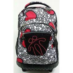 Esta es una de las nuevas mochilas escolares para esta campaña, de la firma totto