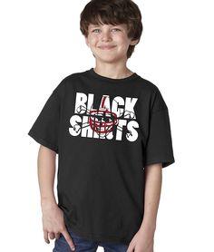 Nebraska Cornhuskers Football BLACKSHIRTS Youth Boys Tee Shirt