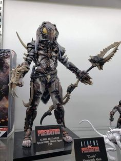 Thanks Chris Wan. Even cooler yet, Predator Figure, Predator Action Figures, Alien Vs Predator, Neca Figures, Horror Action Figures, Predator Costume, Alien Concept Art, Skull Artwork, Fantasy Creatures