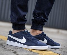 Nike COURT ROYALE SUEDE - NUR 56 EURO #Nike #Court #Rayale #Suede #Herren #Schuhe #Sport