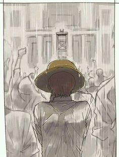 Regen macht mich traurig ;-; und dann auch noch bei einer Hinrichtung ;-;