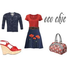 eco chic, created by anais241 on Polyvore