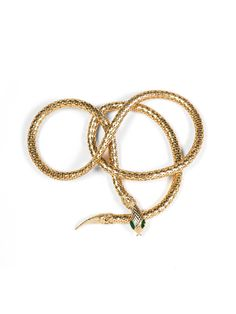 Anything Snake is ME - Vintage Snake Belt That I Would Wear as a Necklace