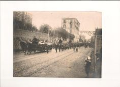 RAMC en Alejandría 1917 - 1919. El hundimiento del RMS 'Transilvania' mayo de 1917.
