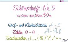 Stickdatei ABC Schönschrift Nr-2 ♥ Stickmuster  von LStick - Stickdateien auf DaWanda.com