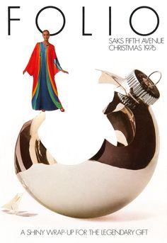 Saks Christmas catalog, 1976.