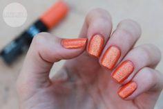 """Zwei in Eins - schon wieder! Duo-Lacquer by Sephora """"Orange"""" - very festive nail polish!"""