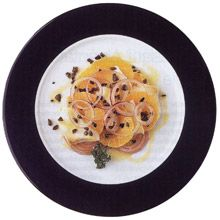 Spanish Recipes from LaTienda.com: Orange, Red Onion, and Salt Cod Salad