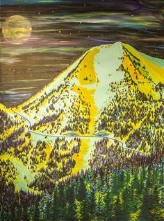 Jackson Hole - painted by the most talented person I know