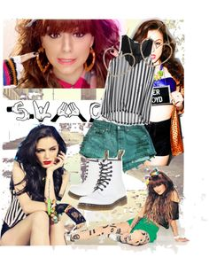 """Cher Lloyd's Style"" by laura-amanda ❤ liked on Polyvore"
