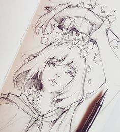 Drawing Girl Faces Sketches Manga Anime New Ideas Art Manga, Manga Drawing, Drawing Sketches, Pencil Drawings, Art Drawings, Anime Art, Manga Anime, Drawing Faces, Drawing Art
