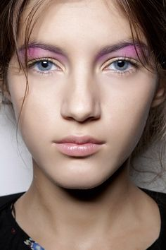 MAC Spring 2013 Makeup Trends : Nu-ance  Peter Som SS 2013
