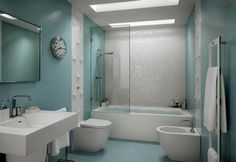 50 Contemporary Bathrooms That Will Completely Change Your Home | http://www.designrulz.com/spaces-for-living/bathroom-product-design/2012/06/50-contemporary-bathrooms-that-will-completely-change-your-home/