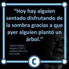 Frase Warren Buffet motivacion