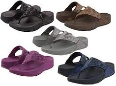 fitflop!!!  Once you go fit flop, you won't go back!