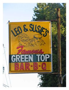 Green Top Bar-B-Q near Sumiton, Alabama