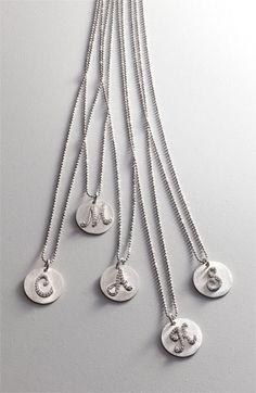 Bony Levy Diamond Initial Pendant Necklace (Nordstrom Online Exclusive)   Nordstrom