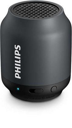 Philips BT50B Taşınabilir Kablosuz Siyah Bluetooth Hoparlör Ses Bombası(H12.BT50B)