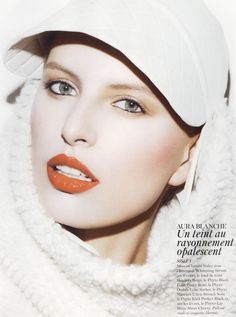 Karolina Kurkova for Vogue Paris, November 2011.
