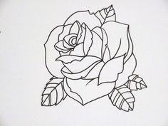 Perfect Rose Hand Tattoo
