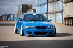 Slammed & Flush | BMW M3 E46