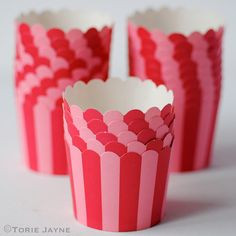 I love these red & pink stripe baking cups from Wholeport, they remind me of carnivals, and fairs, how about you? I have been saving them for the Summer when my nephews and nieces come to visit, s Striped Cake, Cupcake Cases, Hello Kitty Birthday, Cake Business, Christmas Cupcakes, Carnivals, Baking Cups, Pink Stripes, Let Them Eat Cake