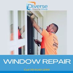 Not sure what to do when you have a broken window?☝️  Call us!  #messy #woodenwindow #brokenwindow #insurance #house Insurance House, Commercial Windows, Window Repair, Broken Window, Glass Repair, Wooden Windows, Solar, Wooden Window Boxes, Wooden Window Frames