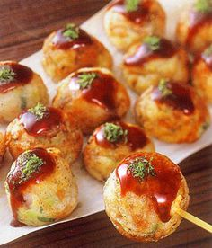 Takoyaki (Octopus Balls) Very good!