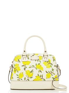 wellesley lemon fabric small rachelle by kate spade new york