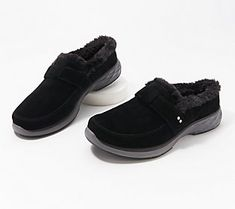Whether you're headed to the grocery store or your kid's soccer game, these slip-on mules are built for comfort and convenience. From Ryka. Ski Fashion, Sporty Fashion, Fashion Women, Winter Fashion, Soccer Games For Kids, Middle Eastern Fashion, Parka Style, Slip On Mules, Sporty Style