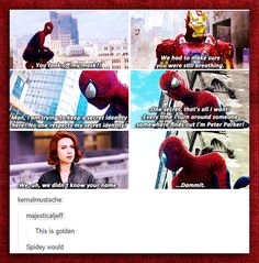 Amazing Spider-Man- Civil War comic strip