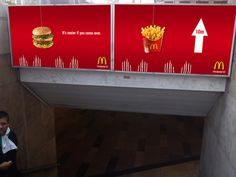 28 Deliciously Creative Ads from McDonald's Guerrilla Marketing Photo