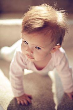 Baby Portraits 6 month portraits Kim Harms