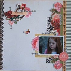 You are my happiness by Hetty Hall - Kaisercraft's Storyteller Collection