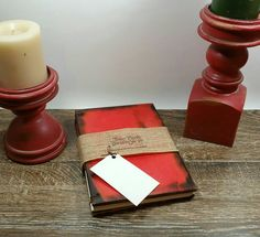 Check out this item in my Etsy shop https://www.etsy.com/listing/259788816/color-line-red-wooden-journal-customize