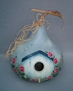 Blackberry Hill Designs Decorative wood and gourd birdhouse patterns for all occasions, country gift items and supplies. Home and Garden Decor, holiday items. Gourds Birdhouse, Painted Gourds, Gourd Art, Bird Houses, Christmas Ornaments, Holiday Decor, Outdoor Decor, Gifts, Blackberry