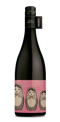Frisky Midget Wines by Australian brand development consultancy, Studio Lost & Found - http://www.studiolostandfound.com