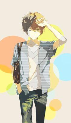 Oreki Houtarou | Hyouka #anime #pixiv