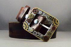 Leather Belt Brown Leather Belt Leather Belt by 4MLeatherDesign