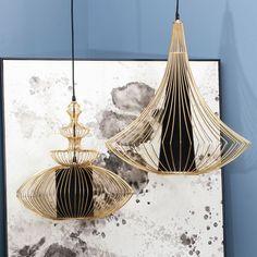 Nos encantan estas lámparas...Hoy esta la encontrarás de #oferta en hogaresconestilo.com #hogar #deco #decoración