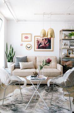 Ziegelwand Und Großes Fenster Im Wohnzimmer | Wohnen | Pinterest |  Ziegelwände, Fenster Und Wohnzimmer