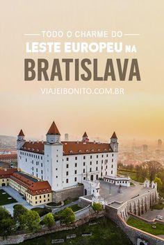 Bratislava, a pequena capital eslovaca com todo o charme do Leste Europeu  #bratislava #europa #eurotrio