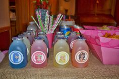 DIY Strawberry Shortcake Party - party drinks