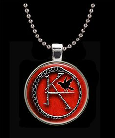 KA Symbol The Dark Tower Round Pendant with Chain by Keukasigns, $8.50