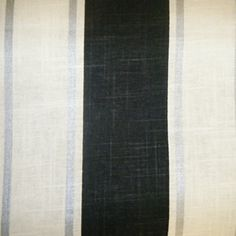 Stripes BlackWhite By Premier Prints Drapery Fabric Drapery - Black and gold stripe drapery fabric