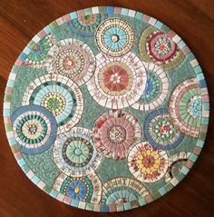Tea for two is complete ready for grouting by robynejay, via Flickr