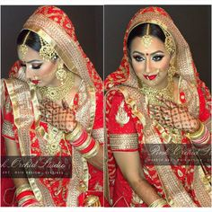 traditional wedding glam