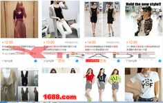 Barang import alibaba Baju Fashion Cewek