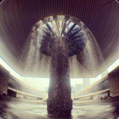 Fountain Museo Nacional de Antropologia